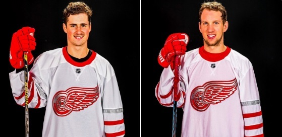 Red Wings and Maple Leafs unveil fantastic Centennial Classic jerseys 8eed8b09118