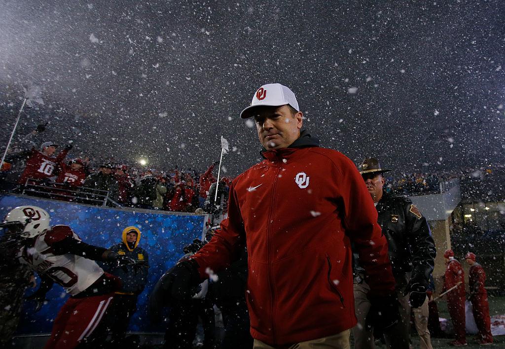 Oklahoma coach Bob Stoops