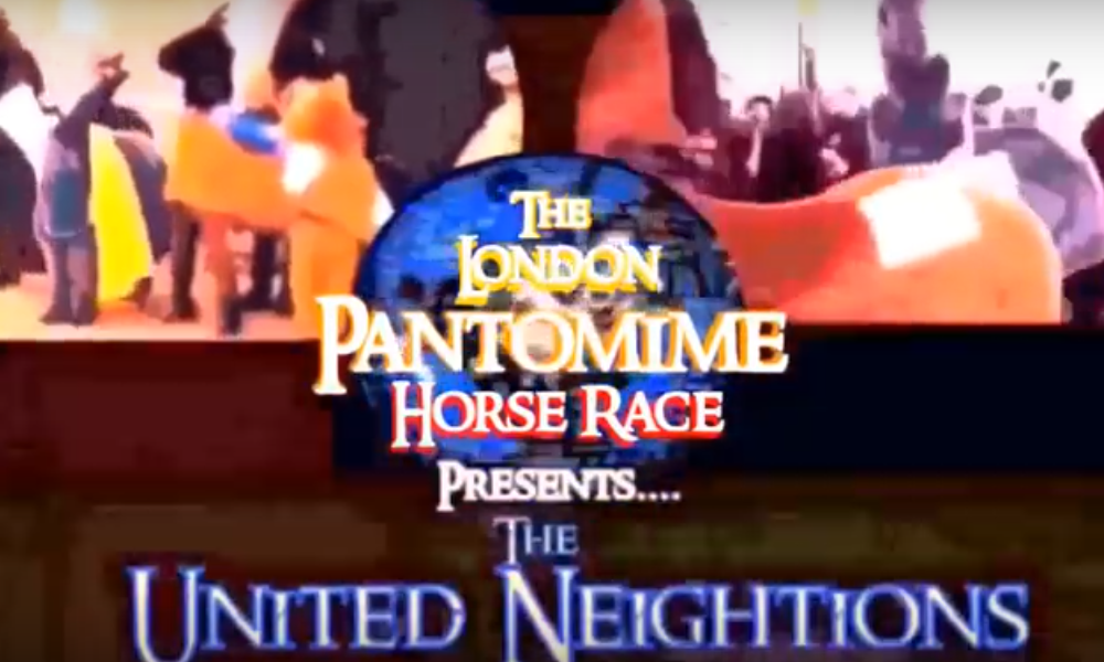 Pantomime horse race