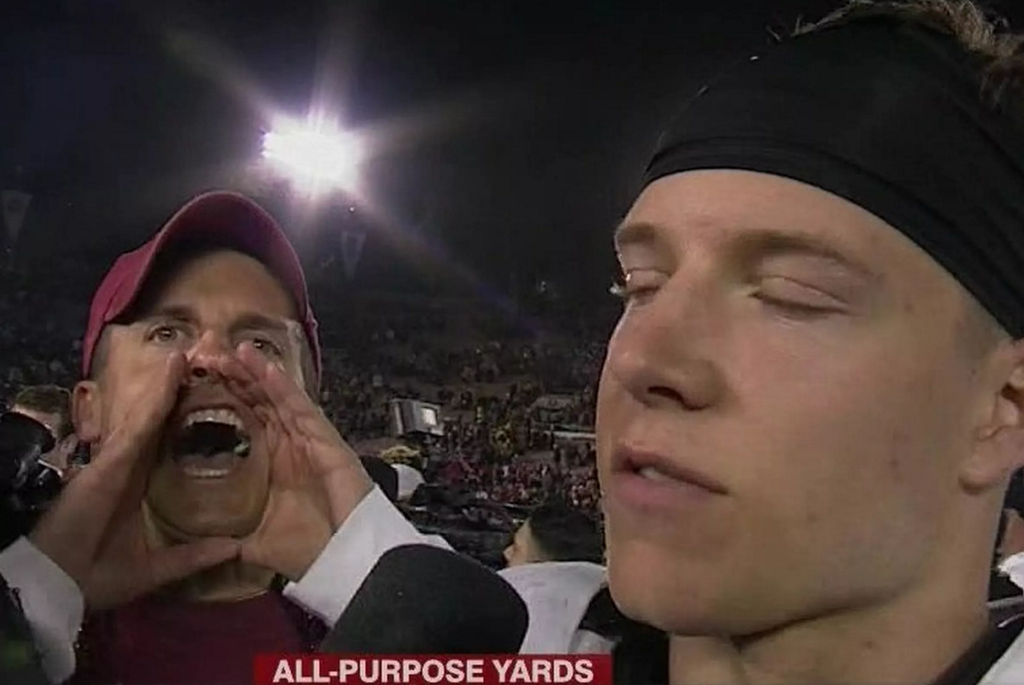 WHY AREN'T YOU PLAYING IN THE SUN BOWL?!