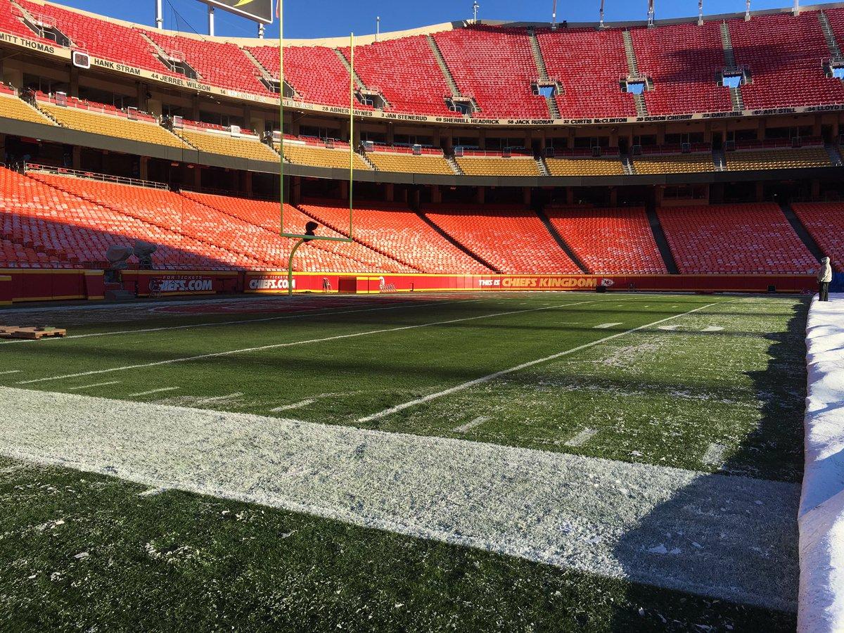 Thursday Night Football field