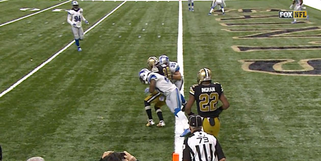 Cooks didn't get any closer than this. Yet Payton used his last challenge instead of running a first-and-goal play.