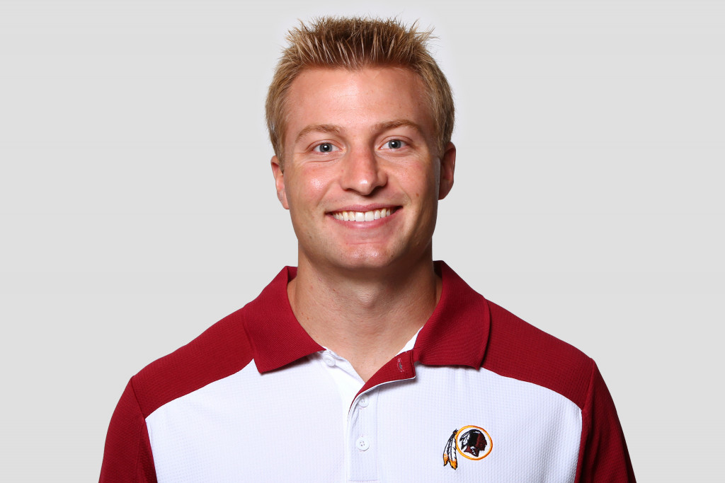 ASHBURN, VA - CIRCA 2011: In this handout image provided by the NFL, Sean McVay of the Washington Redskins poses for his NFL headshot circa 2011 in Ashburn, Virginia. (Photo by NFL via Getty Images)
