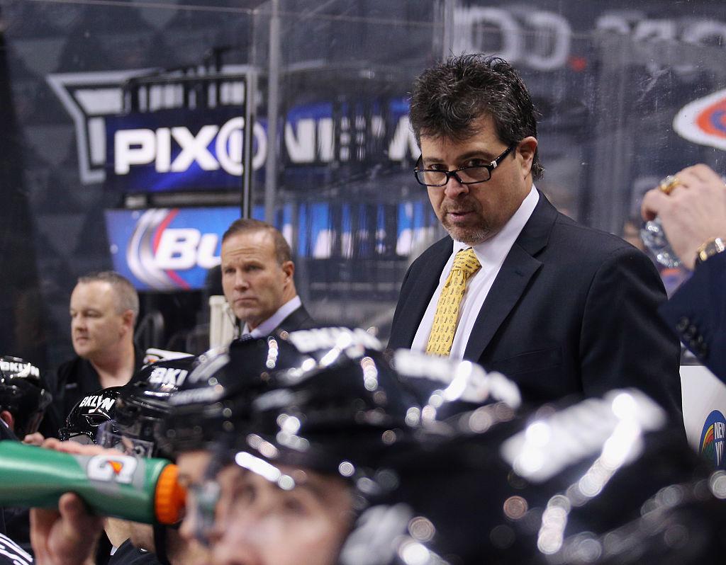 Fired Islanders coach Jack Capuano