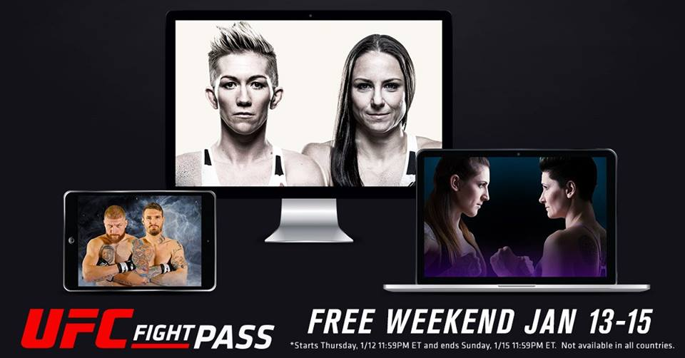 UFC Fight Pass Free Weekend