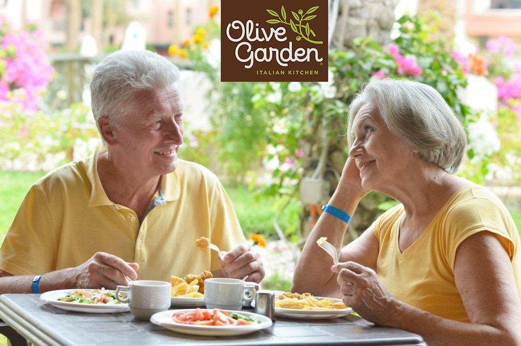Older singles love going to Olive Garden for first dates