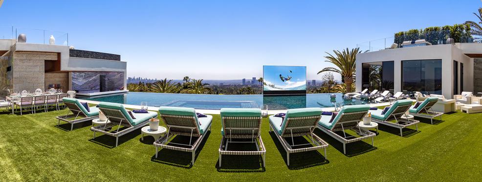 pool 250 million house