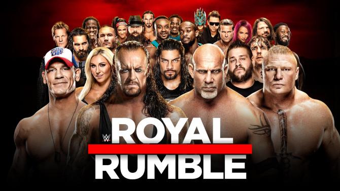 wwe royal rumble poster 2017