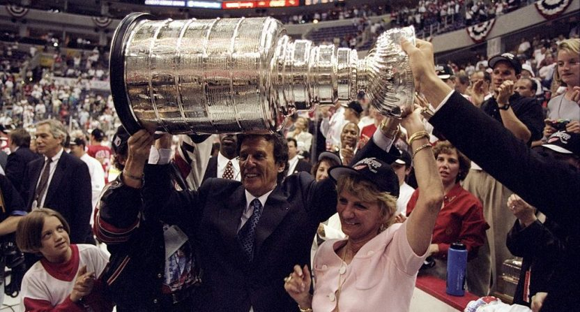 Mike Ilitch Stanley Cup