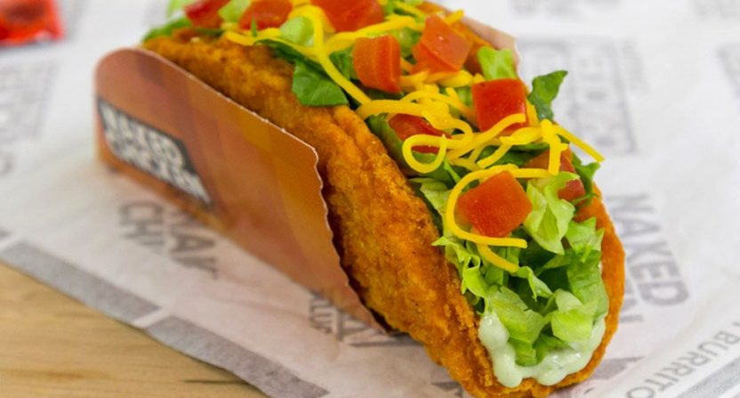 Taco Bells Naked Chicken Chalupa could be worse. But