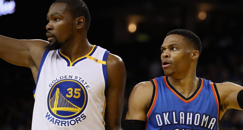 Kevin Durant Russell Westbrook feud