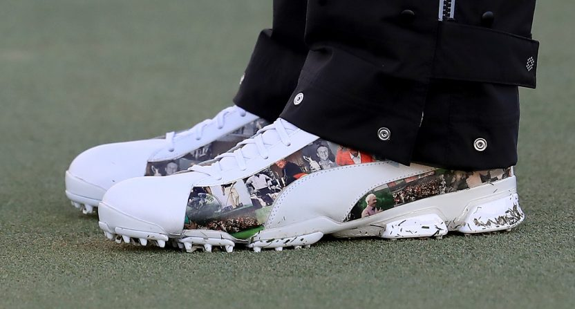 Rickie Fowler Debuted Some Sweet Arnold Palmer Shoes To Honer The King