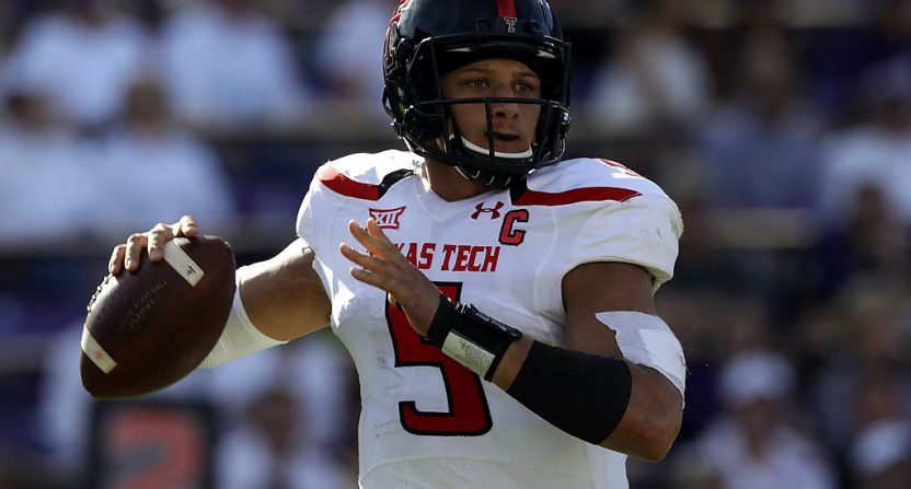 Patrick Mahomes drafted by Chiefs