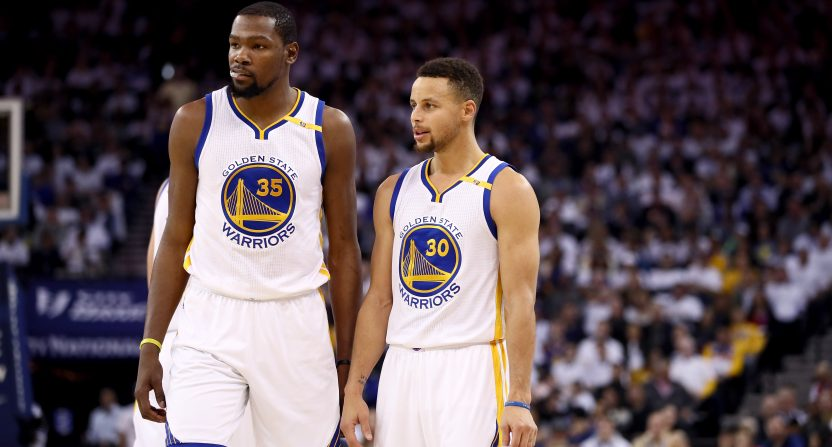 Durant Curry Warriors