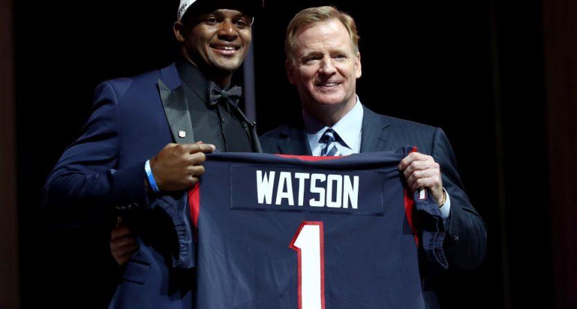 Dabo Swinney guarantees Deshaun Watson will win a Super Bowl with the Texans.