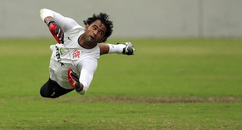 Brazilian goalkeeper Bruno Fernandes das Dores de Souza