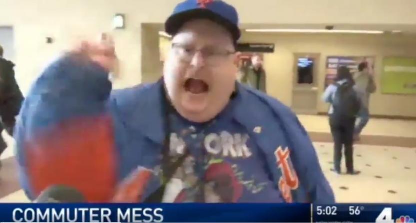 Mets fan meltdown