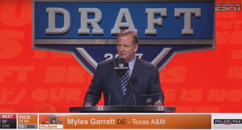Browns draft Myles Garrett