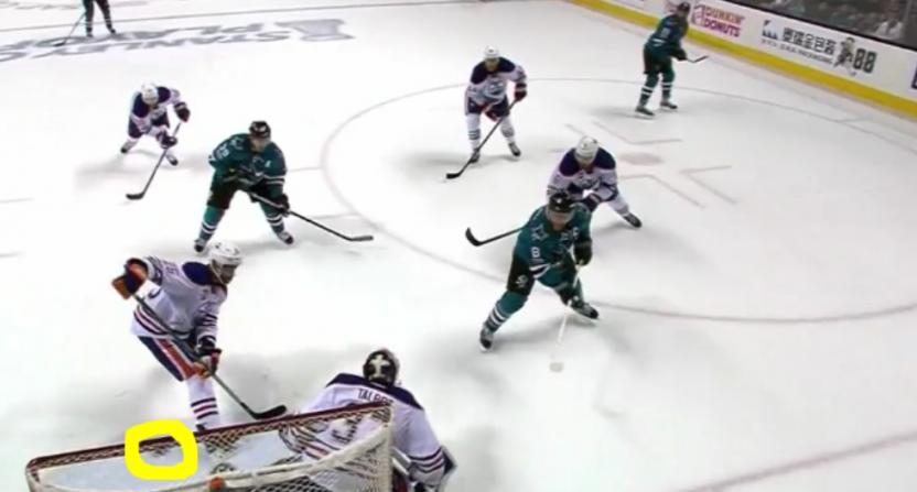 Sharks non-goal