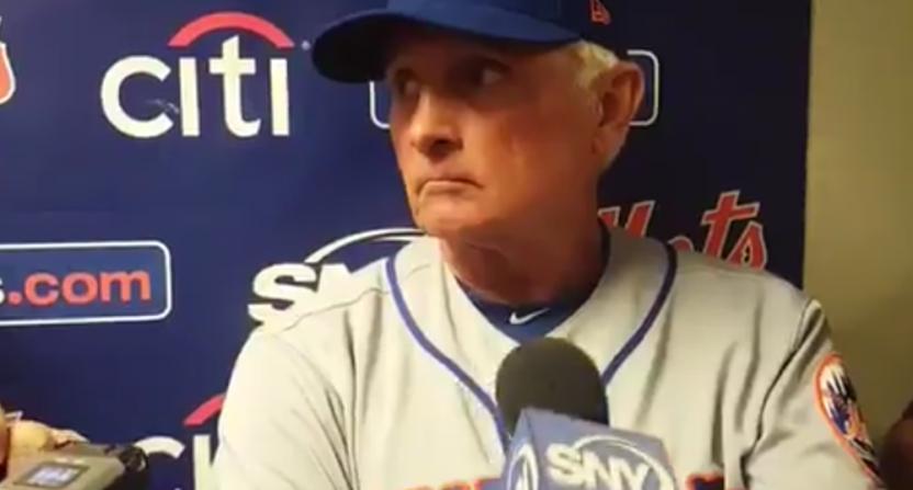Terry Collins Mets rant Syndergaard