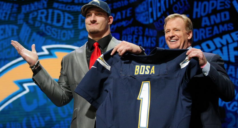 NFL Draft hype is a con job, so why are we watching?