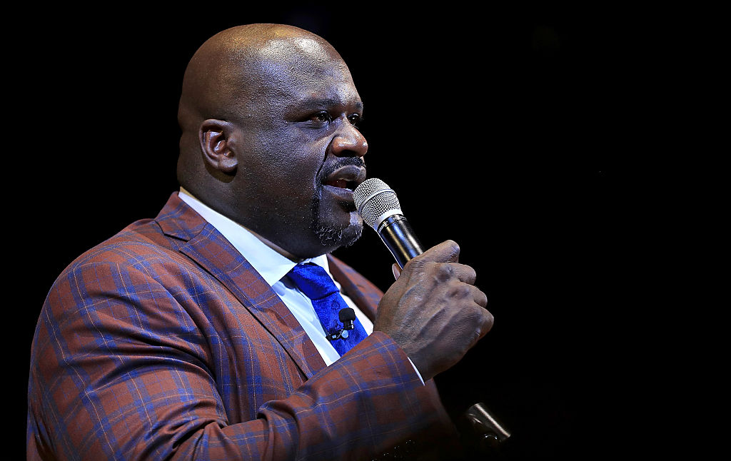 Shaquille O'Neal says he's running for sheriff in 2020