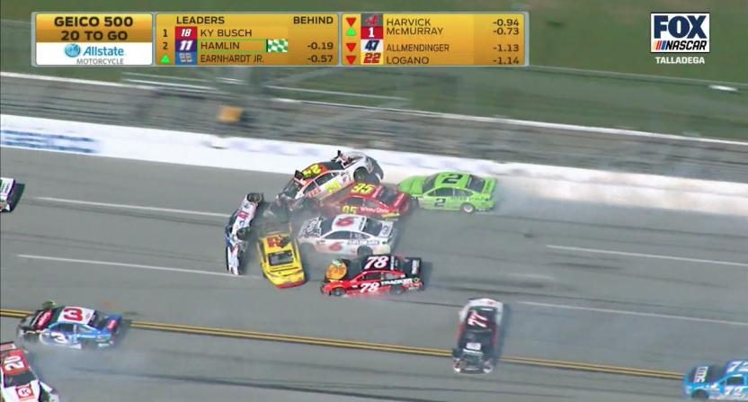 Screen Shot At Pm X on Nascar Big Crashes
