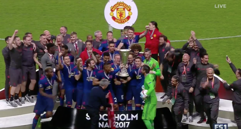 Manchester United Wins Europa League Final Returns To Champions League
