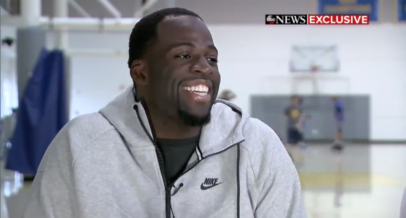 32cd77c4c01 Draymond Green is cool with LeBron being the GOAT as long as ...