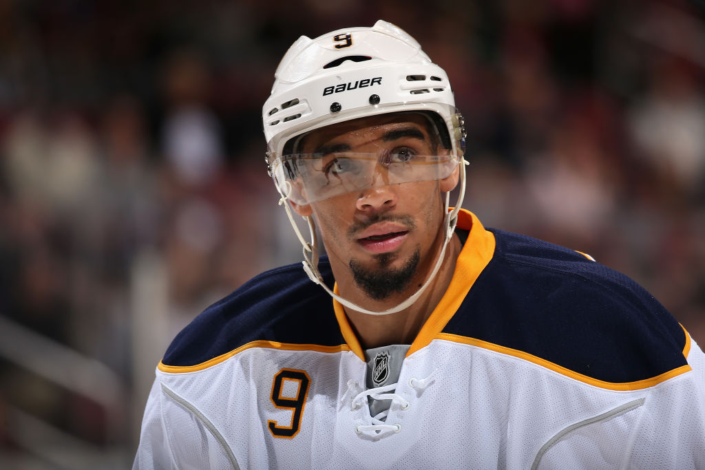 """Evander Kane: """"My name seems to create a buzz with some ..."""