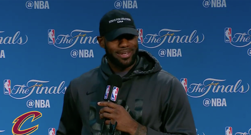 7fc5fee73f0 LeBron on Durant and the Warriors   A few years from now