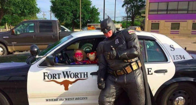 Is Walmart Officer 'batman' Shoplifter Stops The Police Hero Deserves
