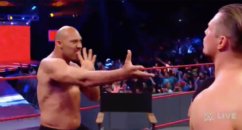 LaVar Ball on WWE Raw