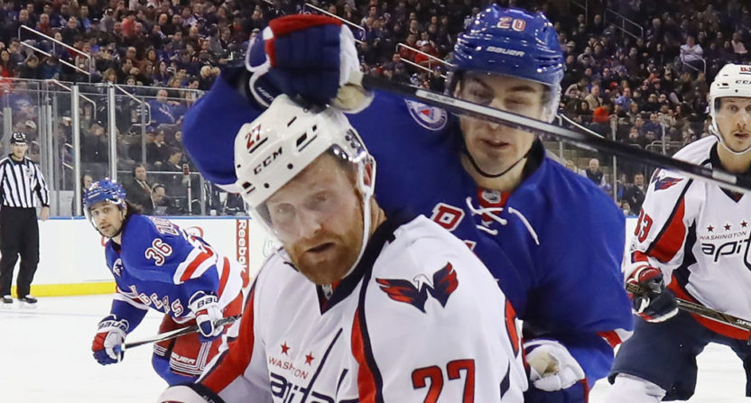 Karl Alzner (27) gave us one of free agency's silliest quotes.