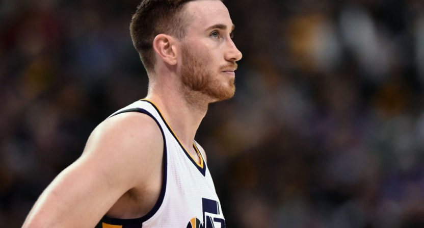 "Gordon Hayward's ""Decision""-mocking video was mocked in turn Tuesday."