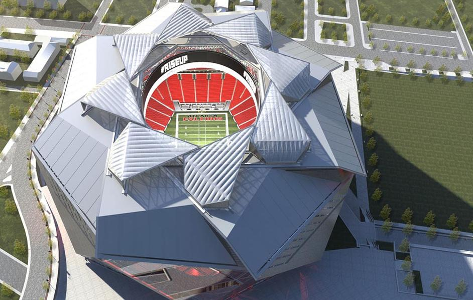 Retractable Roof Of New Atlanta Falcons Stadium Won T Be