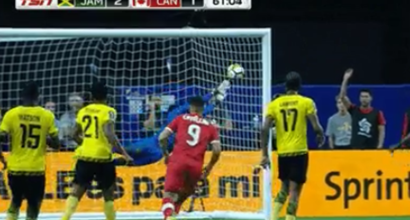 Junior Hoilett scored a beautiful goal for Canada Thursday.