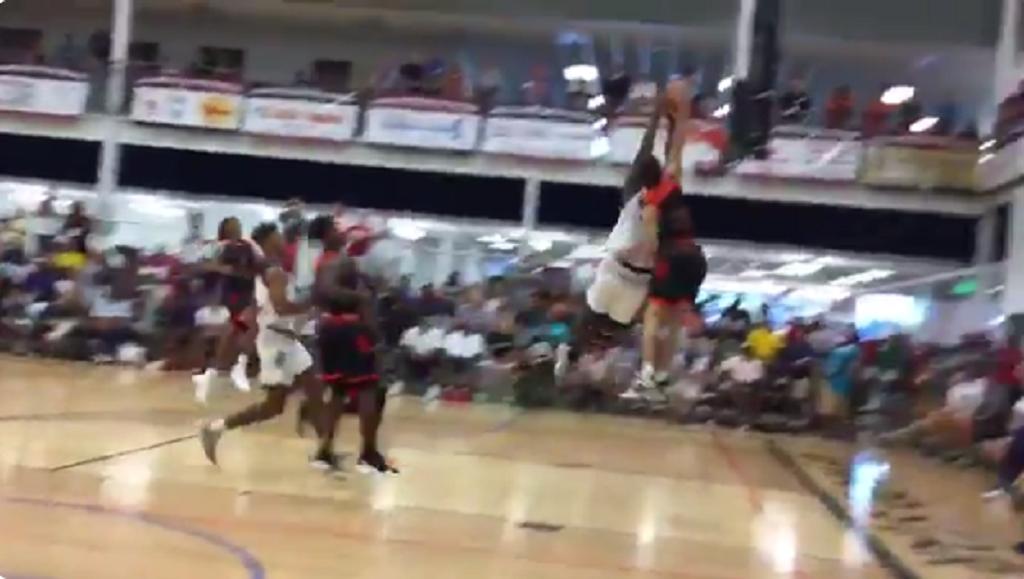 High school basketball star Zion Williamson makes ...