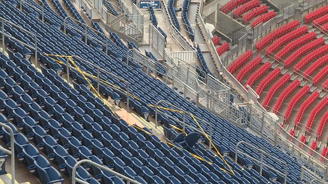 Nissan Panama City >> Misfired fireworks shell hits upper deck of Nashville's Nissan Stadium