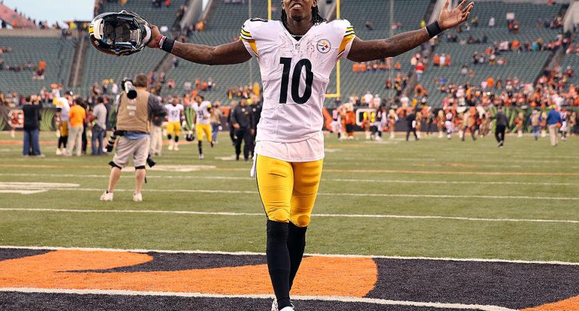 the best attitude 8821a b6514 Steelers' Martavis Bryant says Colts' Matthias Farley