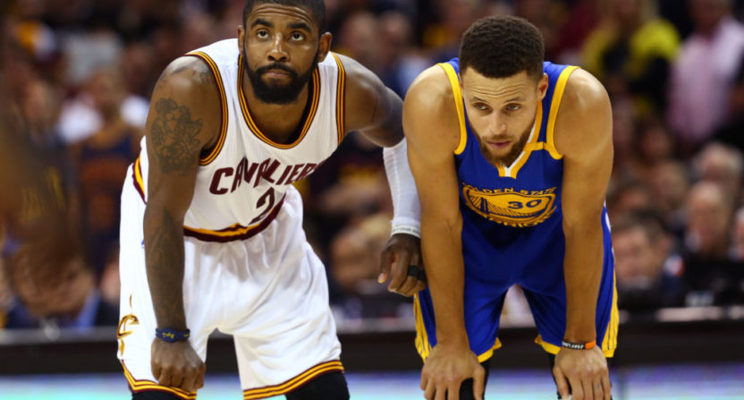 Kyrie Irving and Steph Curry