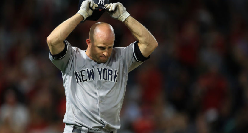 ad8f5e89d Brett Gardner is not fond of having to wear a name on his jersey during  MLB s Players Weekend