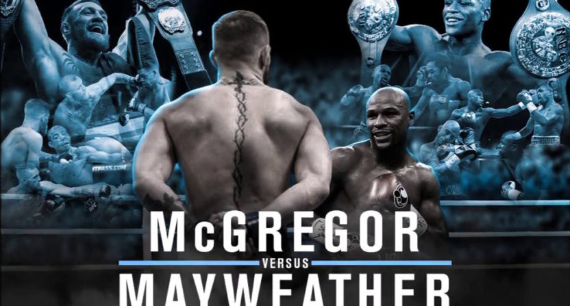 Some sports books really need Floyd Mayweather to beat Conor McGregor.