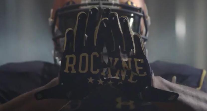 Notre Dame unveils alternate uniforms to honor legendary coach Knute Rockne a7b3ccd55
