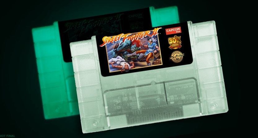 Special edition Street Fighter II cartridge will look better
