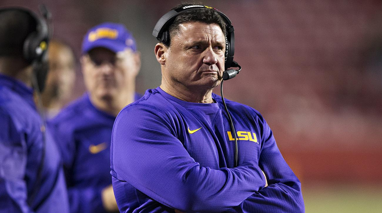 Orgeron year and Fallers: Full of SEC LSU Risers Ed at