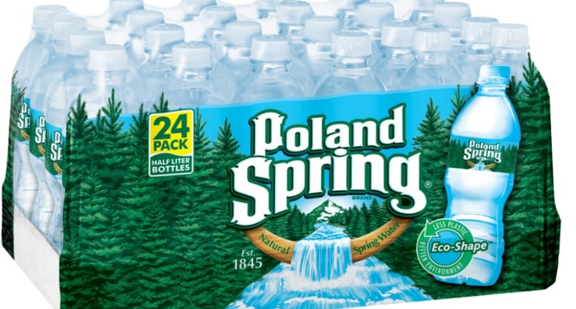 Lawsuit claims Poland Spring water is not from a spring (and