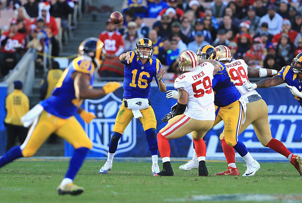 d41a9db40 NFL rules are keeping Rams from wearing throwback uniforms more often