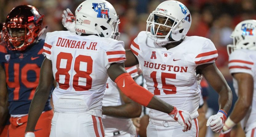 dfc113739 University of Houston jerseys will say  Houston  on back instead of player  names for home opener