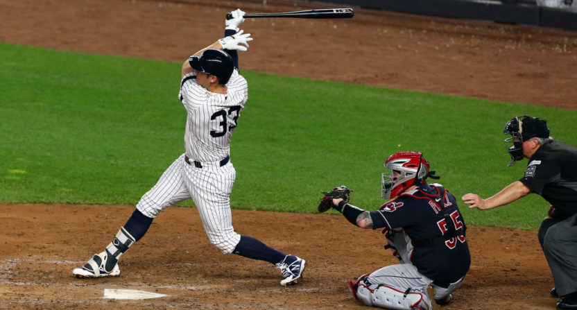 Greg Bird's home run was crucial to the Yankees' survival Sunday.